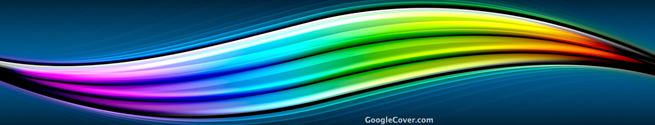Abstract Rainbow Google Cover