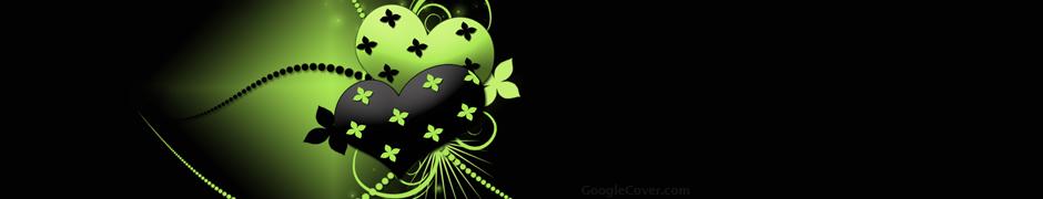 Dark Hearts Abstract Google Cover