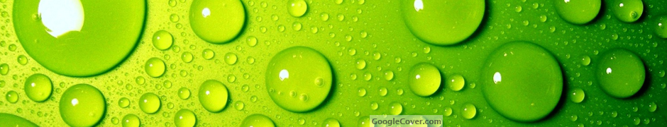 Green Bubbles Google Cover