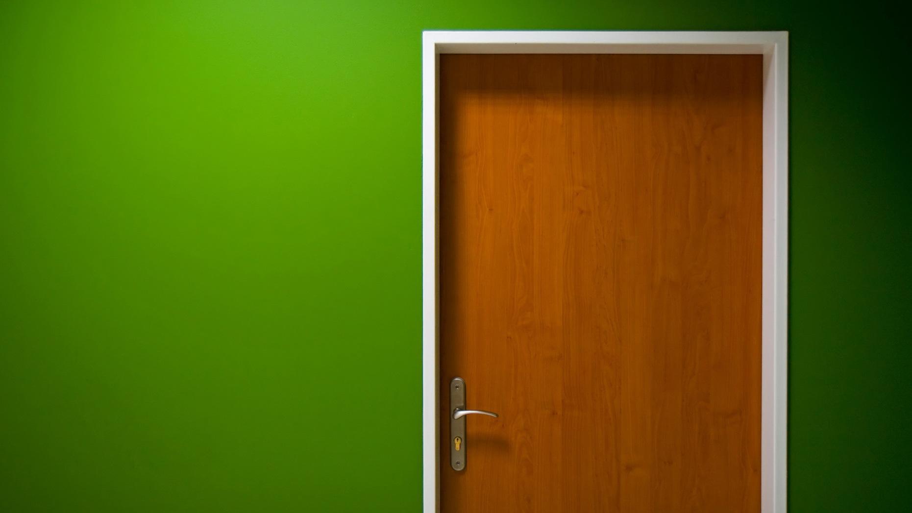 Green Door Google Cover