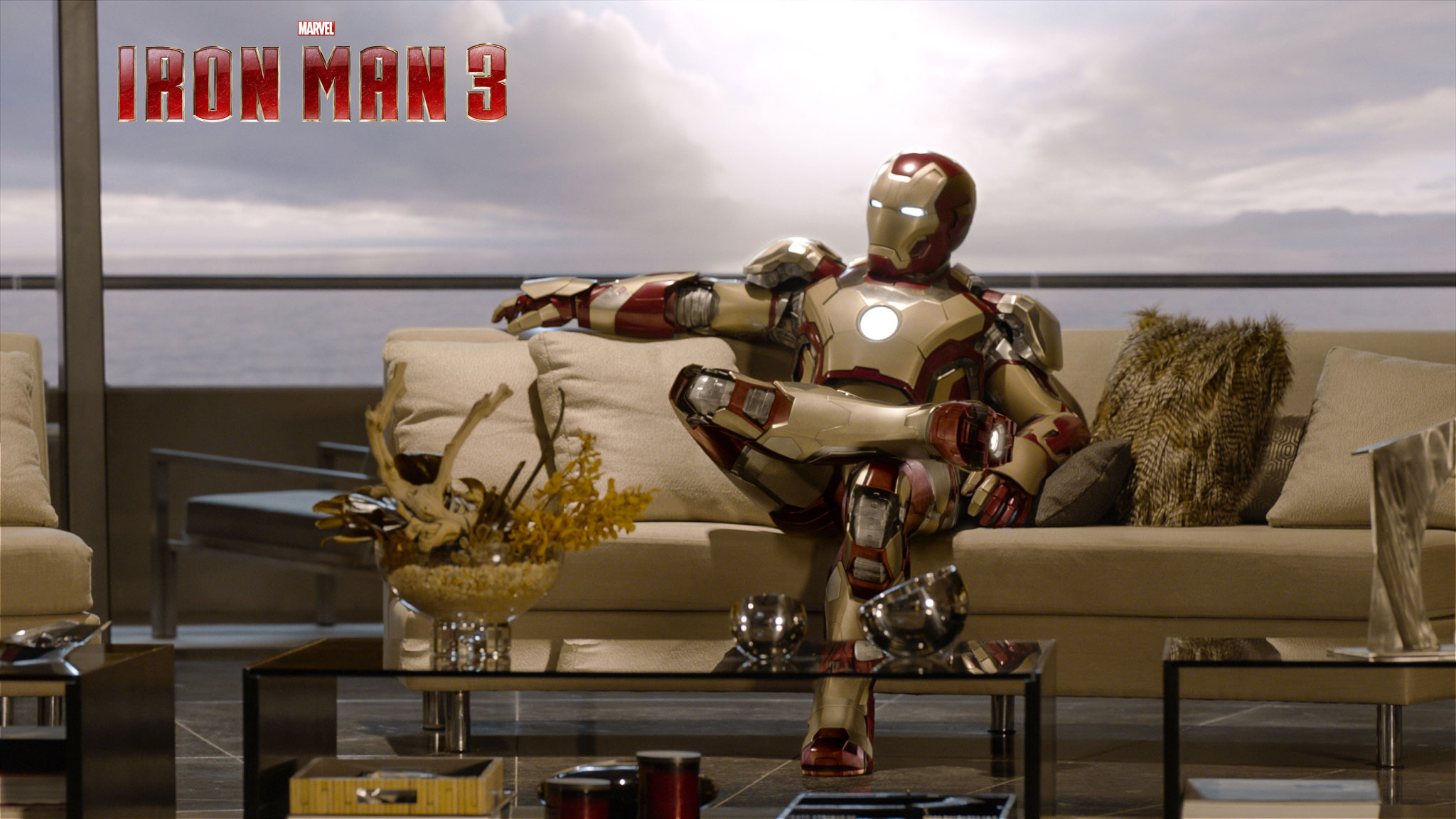 Ironman 3 Sitting Google Cover