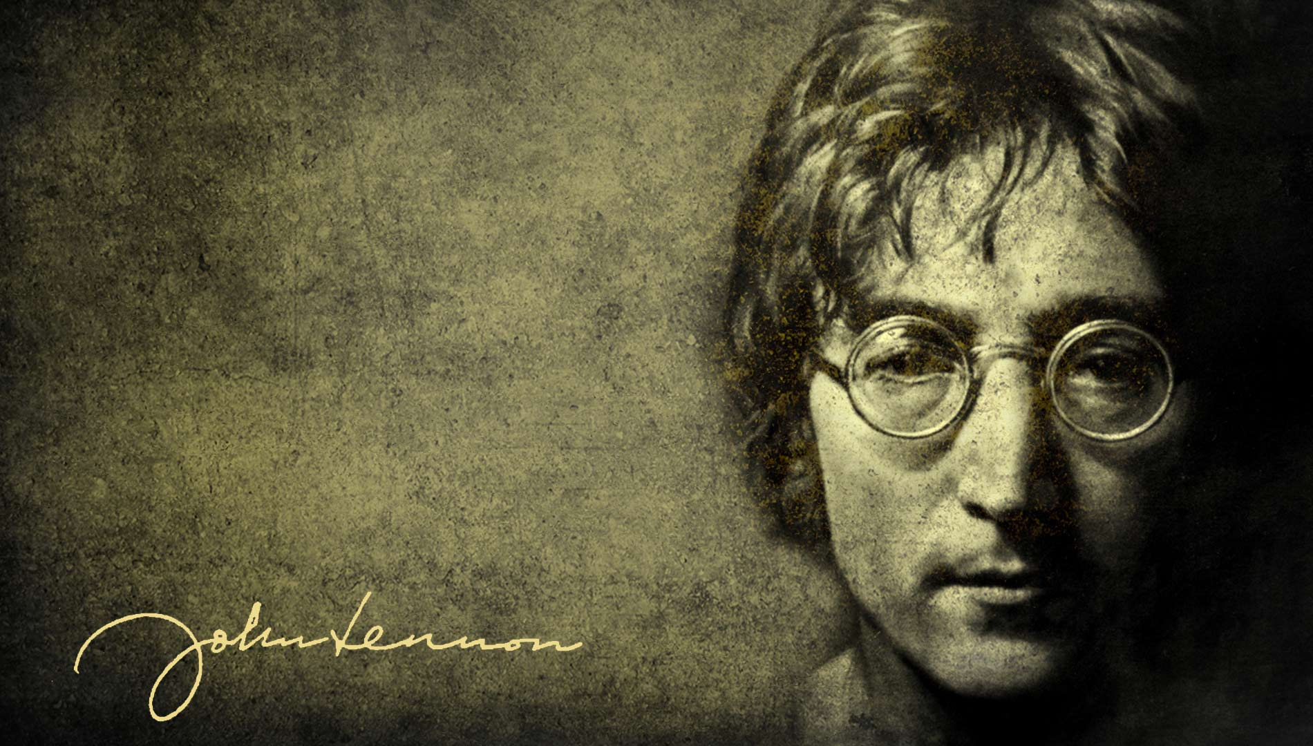 John Lennon Google Plus Cover