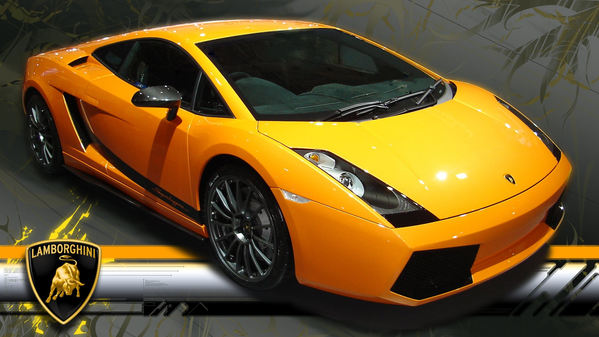 Lamborghini Gallardo Yellow Google Plus Cover