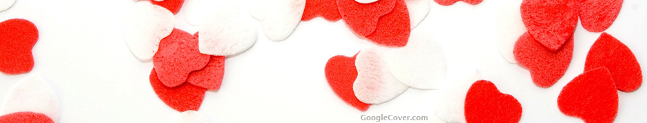 Love Hearts Google Cover