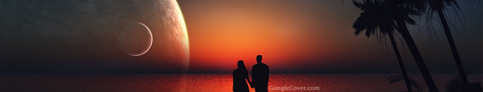 Lovers Silhoutte Google Cover