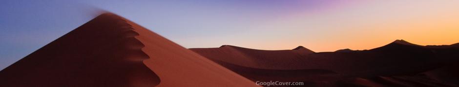 Namib Desert Dunes Google Cover