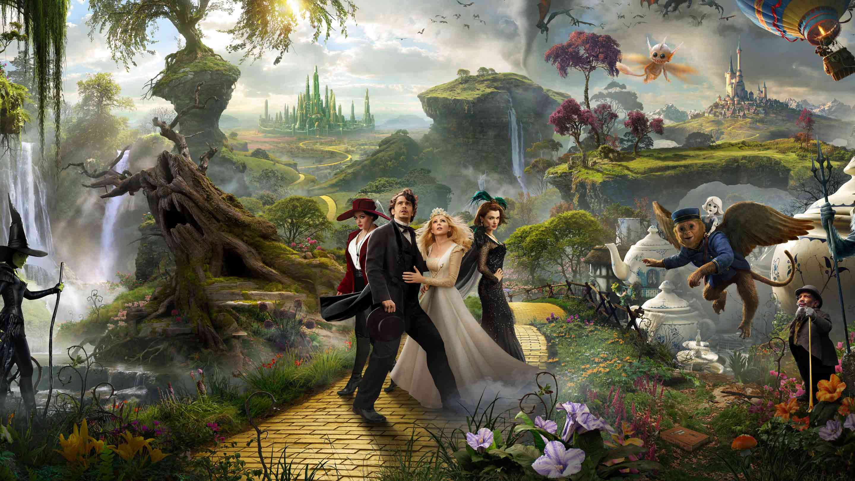 Oz Characters Google Cover