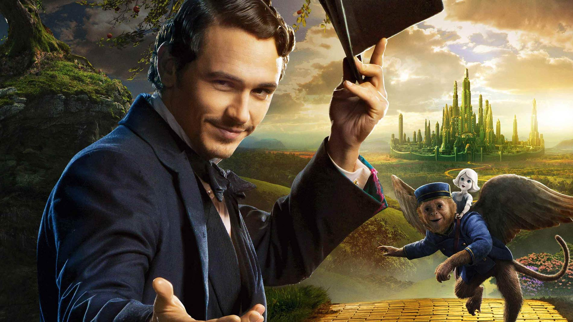 Oz-James Franco Google Cover