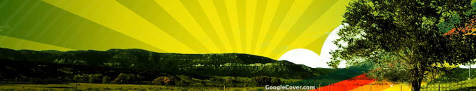 Sunrise Abstract Google Cover
