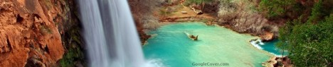 Arizona Waterfall Google Cover