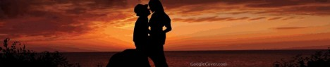 Couple Silhouette Google Cover