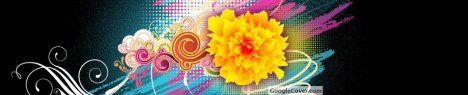 Flower Abstract Google Cover
