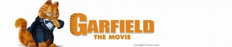 Garfield Movie Google Cover