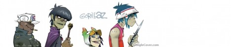 Gorillaz Google Cover