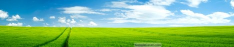 Green Field Google Cover