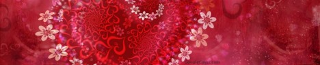 Heart Flowers Google Cover