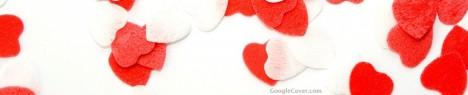 Love Hearts Google Cover