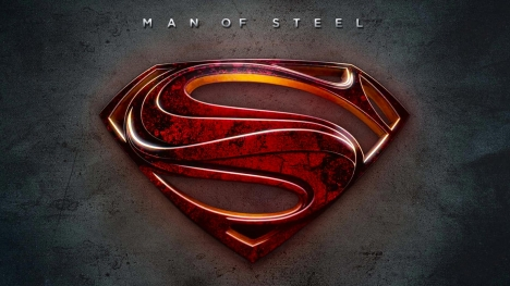 Man of Steel Logo Google Cover