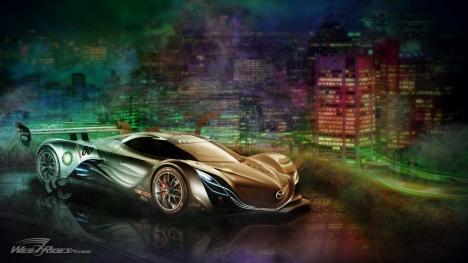 Mazda Furai Google Cover