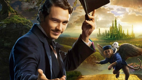 Oz-James Franco Google Cover