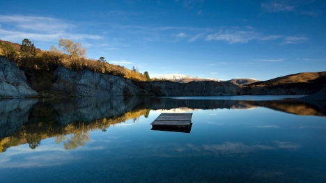 Peaceful Lake Google Cover