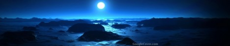 Sea Moon at Midnight Google Cover