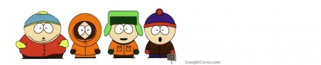 South Park Characters Google Cover