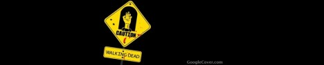Walking Dead sign Google Cover