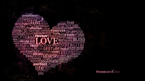 Words of Love Google Cover